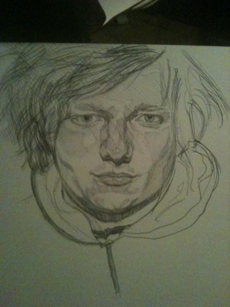Sketch idea for Ed Sheeran