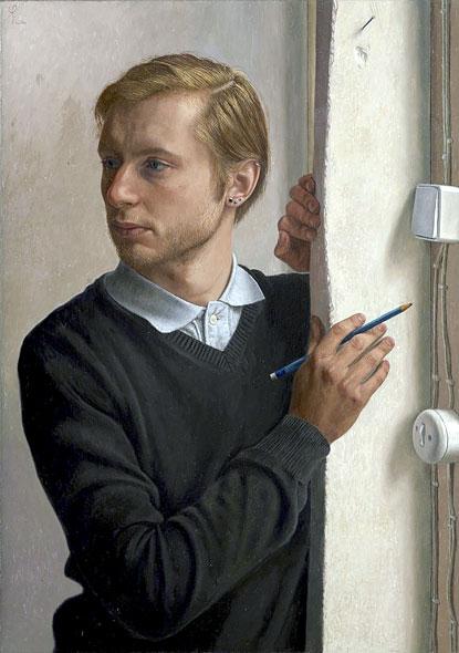 Distracted by Wim Heldens, winner of BP Portrait Award